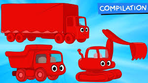 100 One Big Man One Big Truck Cartoons With Morphle Animations For Kids YouTube