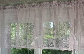 rosa scheiben bistro kurz merle 52x250 cm spitzen querbehang küchen kaffeehaus gardine