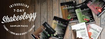 Introducing Shakeology 7 Day Sampler Packs