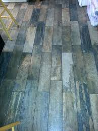 Home Depot Tile Look Like Wood by Image Of Tile Looks Like Woodrubber Flooring Wood Home Depot Floor