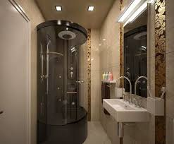 small sized luxury bathroom for minimalist house home