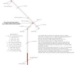 Flagpole Christmas Tree Plans by Rotating Pvc Flagpole Plans U003e Need This For Next Summer House