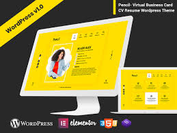 Pencil - Virtual Business Card CV Resume WordPress Theme ... Resume Wordpress Theme Tlathemes 10 Best Premium Wordpress Themes 8degree Mak Free Personal Portfolio Olivia And Profession One Page Cv 38 To Showcase Your Online Press 34 Vcard 2019 Colorlib Theme Wdpressorg Pencil Virtual Business Card Rival Vcard Portfolio Responsive 25 For And 2017 Rabin