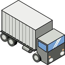 100 Dump Truck Storage Pickup Truck Semitrailer Truck Clip Art Mini Cliparts