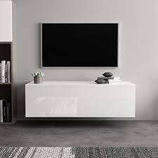 zerone tv lowboard wand tv ständer schrank lagerregal