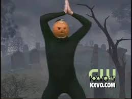 Kxvo Pumpkin Dance Spooky Scary Skeletons by Pumpkin Man Gif