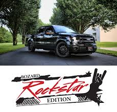 Rock Star Edition - Customized Ford Trucks Available From Bozard ... Ford F350 W 20 Prosc10 110 Rtr 2wd Short Course Truck Combo Rockstar By Team Amazoncom Access Cover A1020041 Rockstar Mud Flap Automotive Rockstar Hitch Mounted Flaps Sema 2017 Garagescosche Duramax Utv Peterbilt 579 Pack For Ats Mod American Dodge Ram 2009 Rock Star Energy Skin Simulator Mod 154semaday1starophytruck Hot Rod Network 042018 F150 Xd 20x9 Matte Black Star Ii Wheel 12 Offset Bronco Bronco Pinterest Bronco And Classic 23fordtruof2015semashowbrideeganrockstarenergypro2