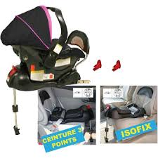 sieges isofix looping base isofix noir achat vente embase siège