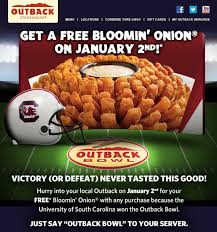 Free Bloomin Onion Code / Party City Orlando Hours Can I Eat Low Sodium At Outback Steakhouse Hacking Salt Gift Card Eertainment Ding Gifts Food Steakhouse Coupon Bloomin Ion Deals Gone Wild Kitchener C3 Coupons 1020 Off Coupons Free Appetizer Today Parts Com Code August 2018 1for1 Lunch Specials Coupon From Ellicott City Md On Mycustomcoupon Exceptional For You On The 8th Day Of