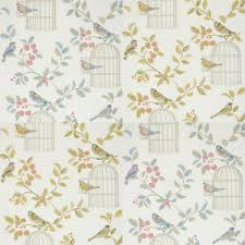Image Is Loading ILiv Shabby Chic Song Bird Wallpaper