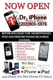Dr Iphone & Smartphone Repair Service CLOSED Electronics Repair 444 Grand Ave New Haven CT Phone Number Yelp
