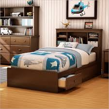 Cute Twin Bed Frame with Storage — Modern Storage Twin Bed Design