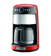Red Bunn Coffee Maker 3 Burner Full Image For Cup You