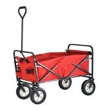 Sandusky 3 5 cu ft 22 in W Folding Utility Cart FCW3622 The