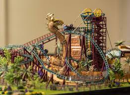 Busch Gardens reveals model of new Cobra s Curse coaster