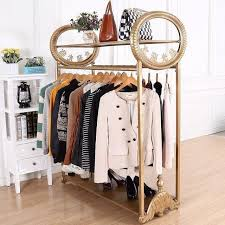 High End Fashion Boutiques Display Clothing Racks Shelf Upscale Womens Store Iron Online With 57405 Piece On Xwt5242s