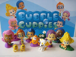 Bubble Guppies Cake Toppers by Nickelodeon Bubble Guppies 12 Pc Deluxe Figure Toy Set Cake Topper