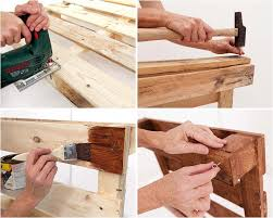 diy wood pallet furniture ideas 4 easy projects for home and garden