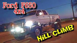 F650 Ford Truck 4 Wheel Drive Hill Climb - Ultimate And EXTREME ...