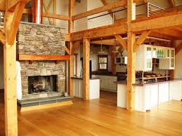 Interior Of Timber Framed Gambrel Barn Home With Hand Hewn Beams ... Barnplans Gambrel Barn House Homegambrel Pinterest 179 Designs And Plans Baby Nursery Gambrel Roof House Plans Examples Of Homes Apartments With Settlers Mountain Wood Home Great Plains Project Rha0313 Roof Tiny Spectacular Perfect For Entertaing Family Southern Living Steel Buildings Sale Ameribuilt Structures Best 25 Barn Ideas On Style Metal Building Kit