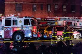 100 Red Fire Trucks FDNY Fire Trucks Collide While Responding To Call In Brooklyn