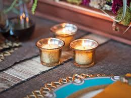 Gold Mercury Glass Bath Accessories by Easily Make Your Own Mercury Glass Votives Hgtv