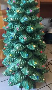 Atlantic Mold Ceramic Christmas Tree History by Atlantic Mold Ceramic Christmas Tree Vintage Lighted Ceramic