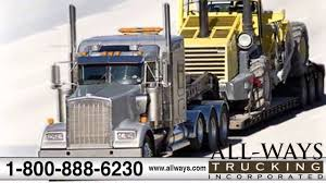 All Ways Trucking | International/Flatbed/LTL/Rail Shipments & Power ...