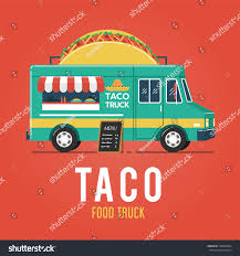 Taco Food Truck Stock Vector (Royalty Free) 728660344 - Shutterstock