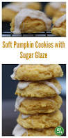 Libbys Pumpkin Nutrition Facts by Soft Pumpkin Cookies With Sugar Glaze Five Silver Spoons
