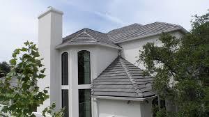 flat roof tile concrete green slate look