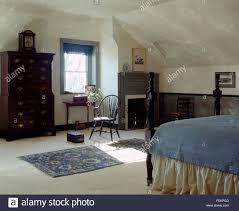 dachboden schlafzimmer im haus des 19 jahrhunderts