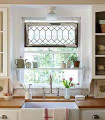 Kitchen Curtain Ideas For Bay Window by Window Treatments For Kitchen Windows Over Sink Decorating Clear