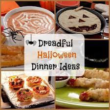 Ideas For Halloween Finger Foods by 8 Dreadful Halloween Dinner Ideas Mrfood Com