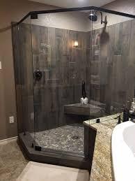 Grey Tiles Bathroom Ideas by Best 25 River Rock Bathroom Ideas On Pinterest River Rock Tile