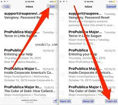How to Delete All Email from Mail Inbox on iPhone & iPad