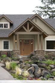 Photo Of Craftsman House Exterior Colors Ideas by Exterior Colors Craftsman And Front Porches Also Ranch Style House