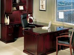 Realspace Broadstreet Contoured U Shaped Desk by Office Depot L Shaped Desk Crafts Home