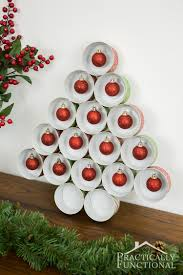 Saran Wrap Christmas Tree With Ornaments by Recycled Tin Can Christmas Tree For Under 5 Cat Food Christmas