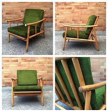 Ficks Reed Lounge Chair by Sparklebarn Pair Of Newly Upholstered Mid Century Chairs By Ficks