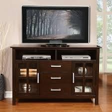 Waterloo Walnut Brown Tall TV Media Stand