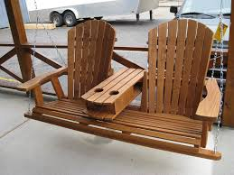 wooden adirondack classical porch swing plans porch swingers