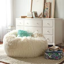 Fuzzy Bean Bag Chair Design