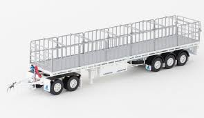 Drake AUSTRALIAN Maxitrans Freighter Trailer & Dolly Road Train ...