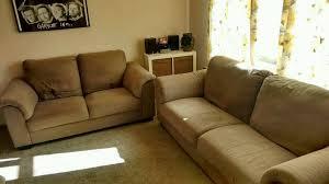 2 ikea tidafors medium brown sofas 2 3 seater in burnopfield