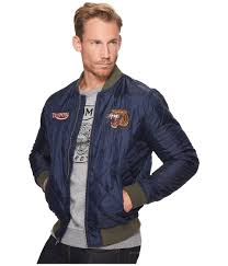 lucky brand quilted bomber jacket at zappos com