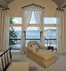 deko gardinen und vorhänge wie lang sollten ihre gardinen