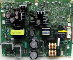 i have the sony kdf 55e2000 the tv has been telling me to replace