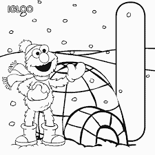 Full Image For Abc Letter H Hippo Sesame Street Elmo Alphabet Coloring Pages