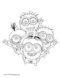 How About To Print And Color This Amazing Picture Of The Minions Dave Kevin